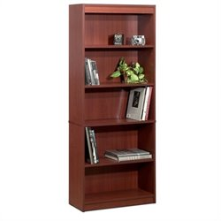 Bestar 5 Shelf Bookcase in Bordeaux