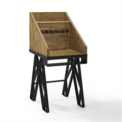 Crosley Brooklyn Turntable Stand in Natural