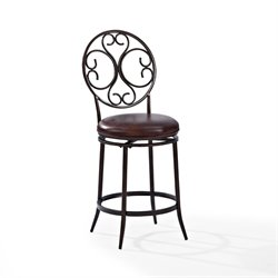 Crosley Arbor Swivel Bar Stool in Aged Bronze-SH4
