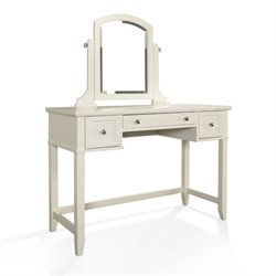Crosley Vista Bedroom Vanity In White