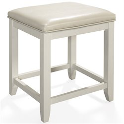Crosley Vista Vanity Stool in White