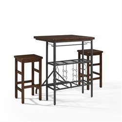 Crosley Sienna 3 Piece Casual Dining Set-SH1