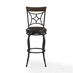 Crosley Kayden Bar Stool In Black