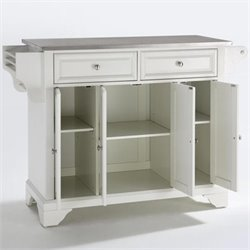 Crosley Furniture LaFayette Kitchen Island in White