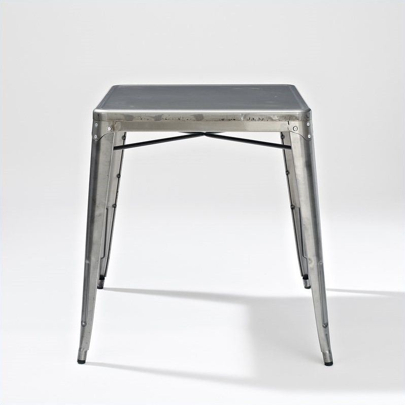 Crosley Furniture Amelia Metal Cafe Dining Table In