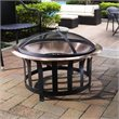 Crosley Ridgeway Copper Bowl Firepit in Copper