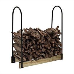 Crosley Hartman Adjustable Firewood Storage Rack