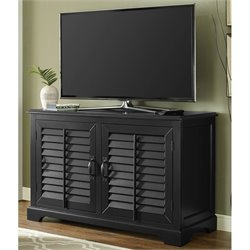 Crosley Sawgrass TV Stand in Black