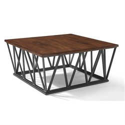 Crosley Travis Coffee Table in Mahogany