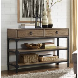 Crosley Trenton Console Table in Coffee