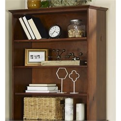 Crosley Valley Forge Hutch in Vintage Cherry