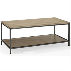 Crosley Brooke Coffee Table in Washed Oak