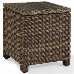 Crosley Bradenton Outdoor Wicker Rectangular End Table