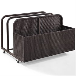 Crosley Palm Harbor Wicker Patio Float Caddy