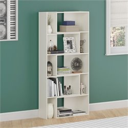 Expandable Bookcase in White