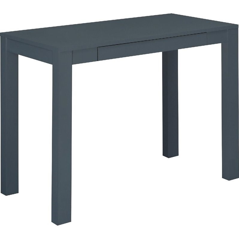 Computer Desk With Drawer In Gray 9859396pcom