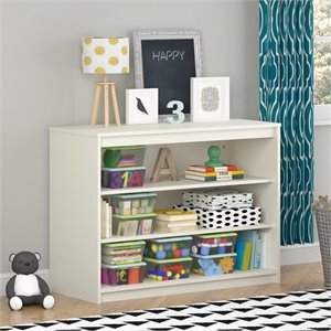 3 Shelf Bookcase in White