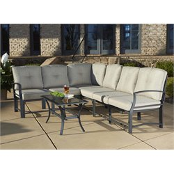 Cosco Outdoor Serene Ridge 7 Piece Patio Conversation Set