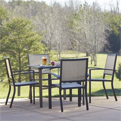 Serene Ridge 5 Piece  Aluminum Dining Set