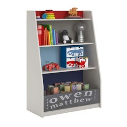 4 Shelf Storage Bookcase in Classic