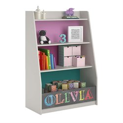 Ameriwood COSCO Kaleidoscope Storage Bookcase in Whimsy