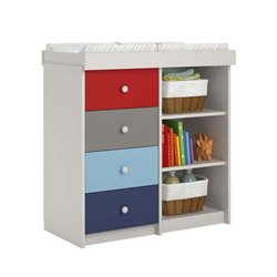 Ameriwood Cosco Kaleidoscope Changing Table in Classic