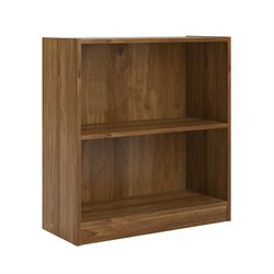 2 Shelf Bookcase in Bank Alder