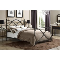 Premium Skylar Queen Metal Bed