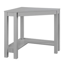 Corner Desk in Gray