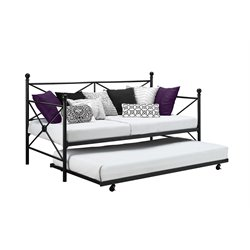 DHP Lubin Daybed and Trundle in Black