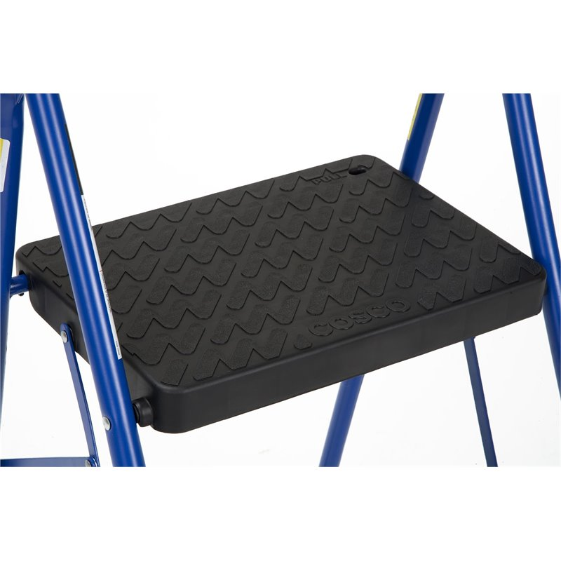 Cosco 2 Step Big Step Folding Step Stool With Rubber Hand