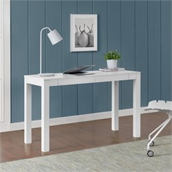 2 Drawer Writing Desk in White