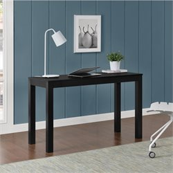 2 Drawer Writing Desk in Black