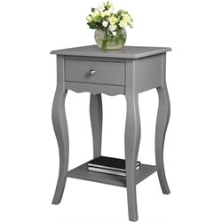 Ameriwood Home Kennedy Accent Table in Gray