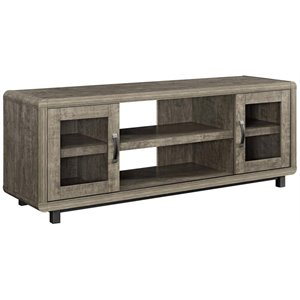 Ameriwood Home Eastlin TV Stand in Brown