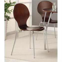 DHP Bentwood Round Chairs Set of 2