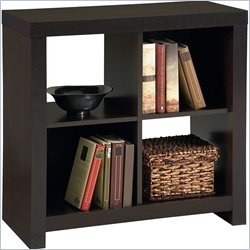 Ameriwood Hollow Core 4-Cube Storage in Black Forest