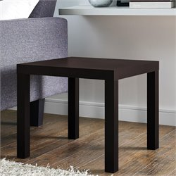 DHP Parsons End Table in Espresso