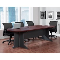 Conference Table in Cherry and Gray
