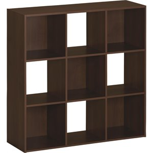 9 Cubby Bookcase in Resort Cherry