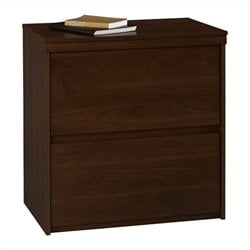 Ameriwood Lateral File in Resort Cherry