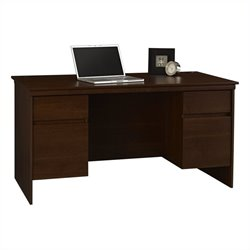 Ameriwood Executive Desk in Resort Cherry