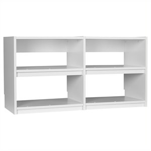 Small Cubby Unit in White Aquaseal