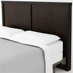 Ameriwood Hollow Core Full and Queen Headboard in Black Forest