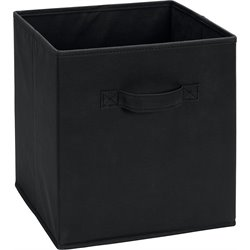 Ameriwood Fabric Storage Bin in Black
