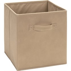 Ameriwood Fabric Storage Bin in Mocha