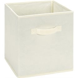 Ameriwood Fabric Storage Bin in Natural