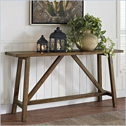 Altra Furniture  Console Table in Rustic Finish
