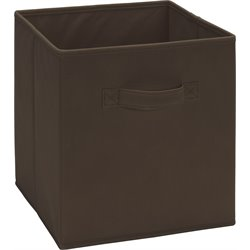 Ameriwood Fabric Storage Bin in Brown