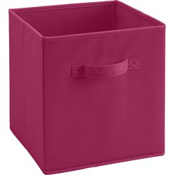 Ameriwood Fabric Storage Bin in Pink